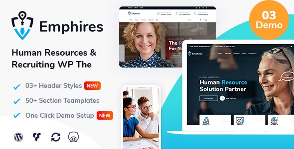 Emphires - Human Resources & Recruiting Theme - Business Corporate