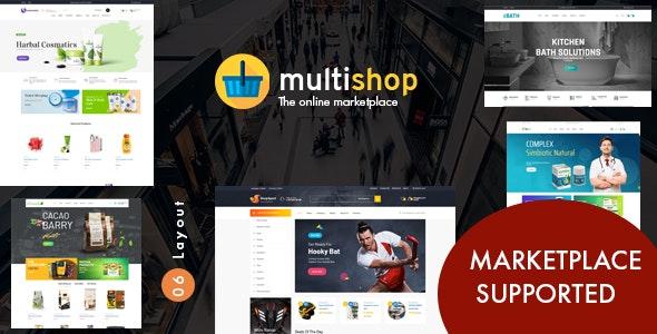 Leo Multishop  PrestaShop Marketplace Theme - Miscellaneous PrestaShop