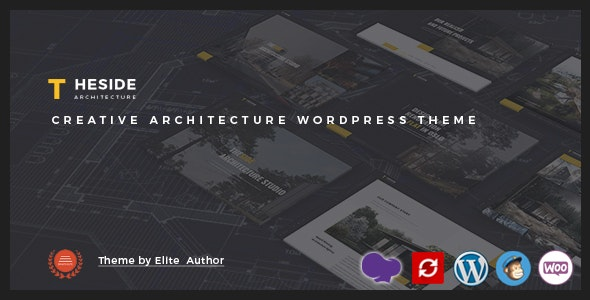 TheSide - Creative Architecture WordPress Theme - Business Corporate