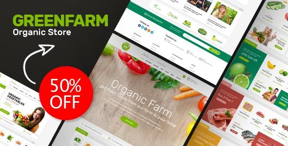 Greenfarm v1.0 – Organic & Food Prestashop Theme