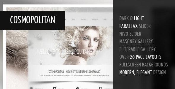 Cosmopolitan - Professional Business HTML Theme - Corporate Site Templates