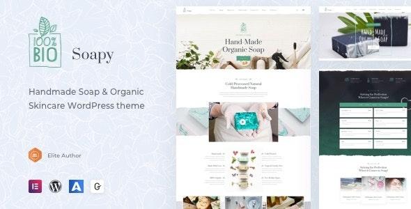 Soapy - Handmade & Organic Skincare WordPress - Business Corporate