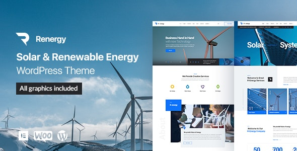 Renergy Theme Preview