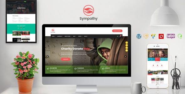 Sympathy | Charity WordPress Theme