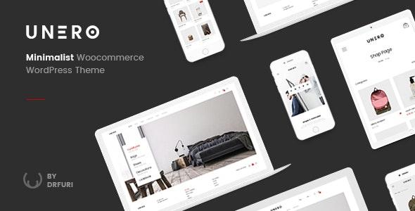 Unero - Minimalist AJAX WooCommerce WordPress Theme - WooCommerce eCommerce