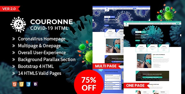 The Daily - News HTML Template - 2