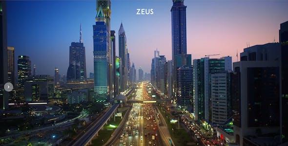 Zeus - Fullscreen Video & Image