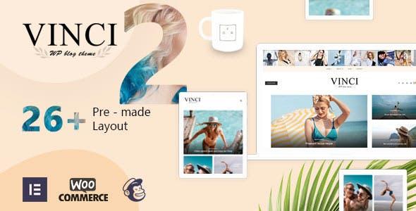Vinci - Responsive WordPress Blog Theme