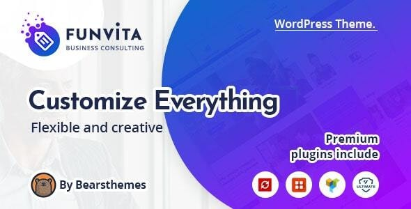 Funvita |  Business Consulting WordPress Theme - Business Corporate