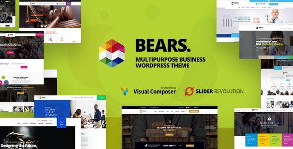 Bears - Multipurpose Business WordPress Theme - Business Corporate