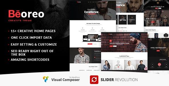 Beoreo | Creative Multi-Purpose WordPress Theme - Creative WordPress