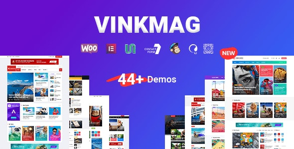 Vinkmag - Multi-concept News Magazine WordPress Theme - News / Editorial Blog / Magazine