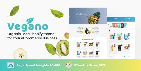 Vegano - Vegan Online Store Shopify Theme
