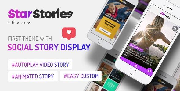 StarStories - Creative Magazine & Blog theme - Blog / Magazine WordPress