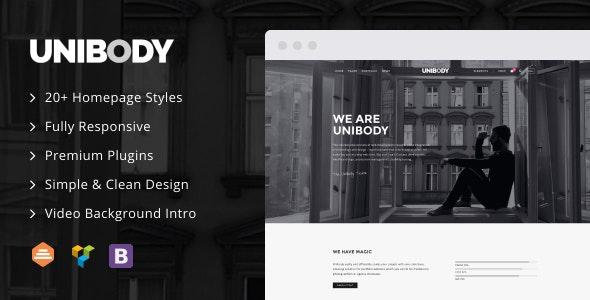 UniBody - Elegant Business WordPress Theme - Business Corporate