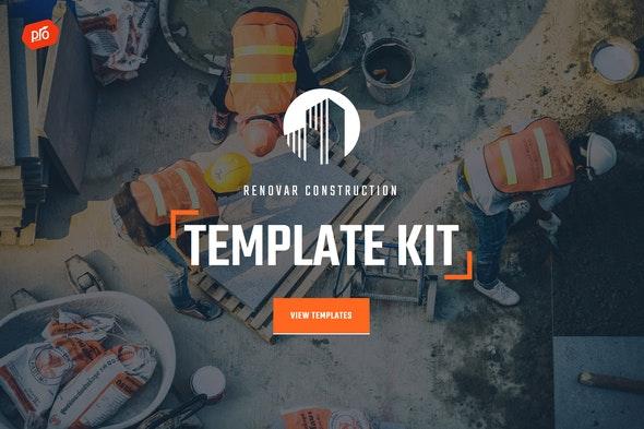 Renovar - Construction Template Kit - Real Estate & Construction Elementor