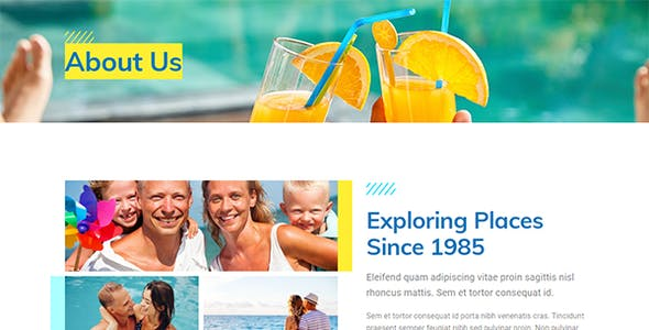 WeTravel - Travel and Tourism Template Kit