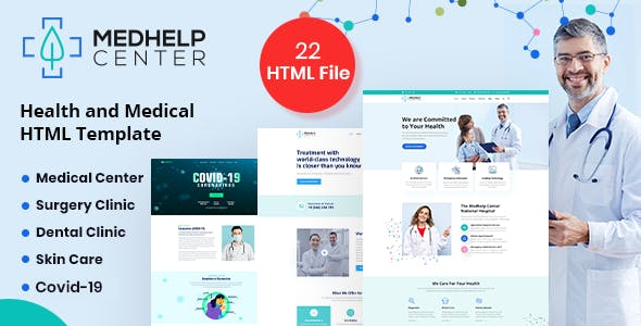 MedHelp Center Health And Medical Html5 Template