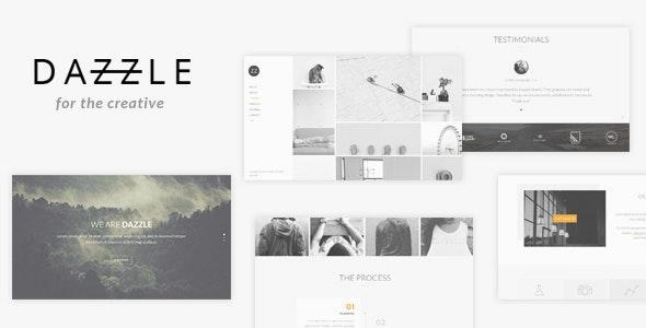 Dazzle - Portfolio Theme for Creative Professionals - Portfolio Creative