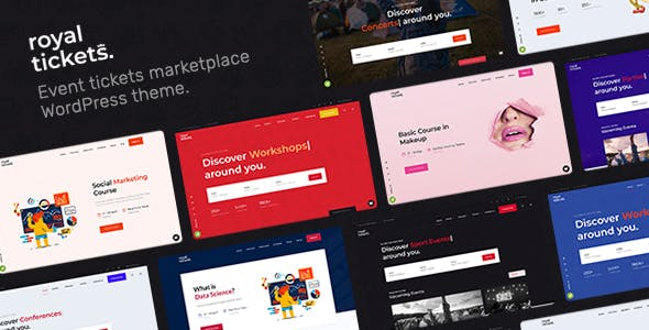 Download RoyalTickets - Events Booking WordPress Theme