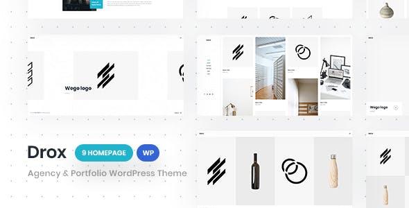 Drox - Agency & Portfolio WordPress Theme
