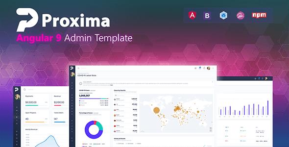 Proxima - Angular 9 Admin Template - Admin Templates Site Templates