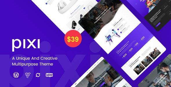 Pixi - Creative Multi-Purpose WordPress Theme - Creative WordPress
