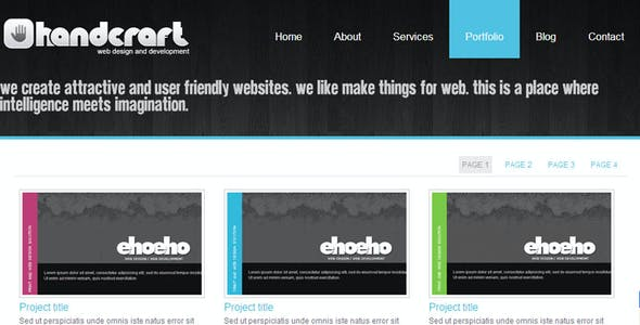 Handcraft 7 in 1 - Portfolio and Business template