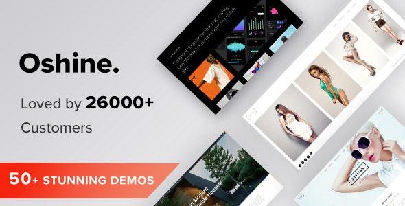 Oshine - Multipurpose Creative WordPress Theme - Portfolio Creative