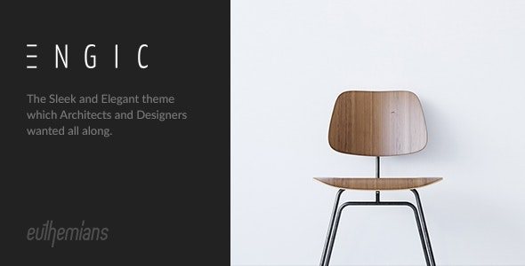 Engic - A Sleek Multiuse Responsive WordPress Theme - Miscellaneous WordPress