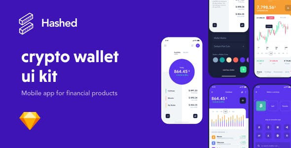 Hashed Crypto Wallet UI Kit
