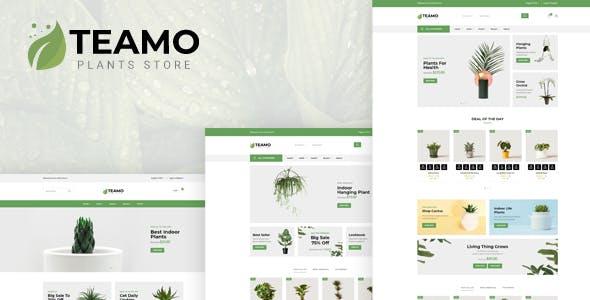 Teamo - Plants Store HTML Template