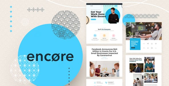 Encore - Multi-purpose Business Template Kit
