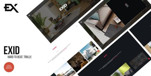 Exid - Creative Portfolio Template - Portfolio Creative