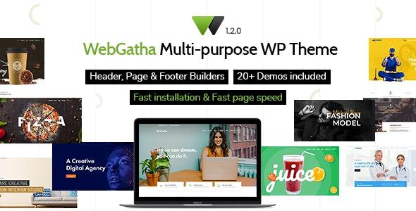 WebGatha - Multi-purpose WordPress Theme - Corporate WordPress