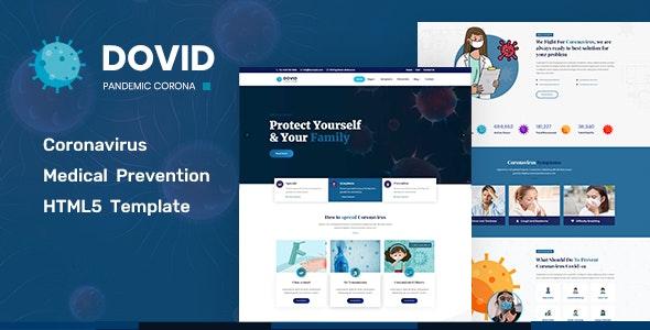 Dovid - Coronavirus Medical HTML - Health & Beauty Retail
