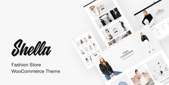 Shella - Fashion Store WooCommerce Theme - WooCommerce eCommerce