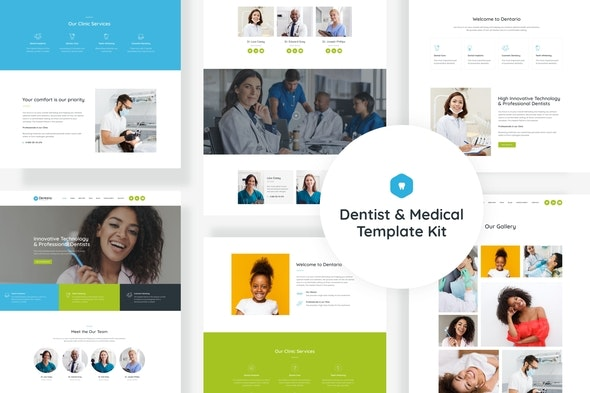 Dentario - Dentist & Medical Elementor Template Kit - Health & Medical Elementor