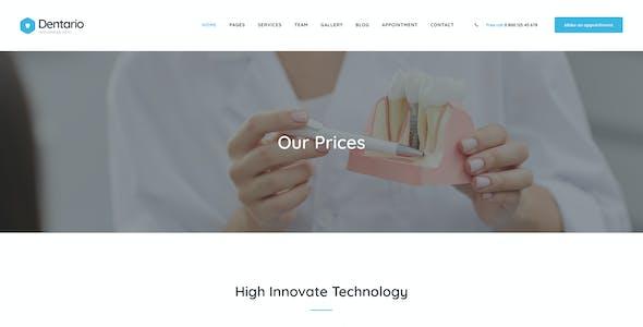 Dentario - Dentist & Medical Elementor Template Kit