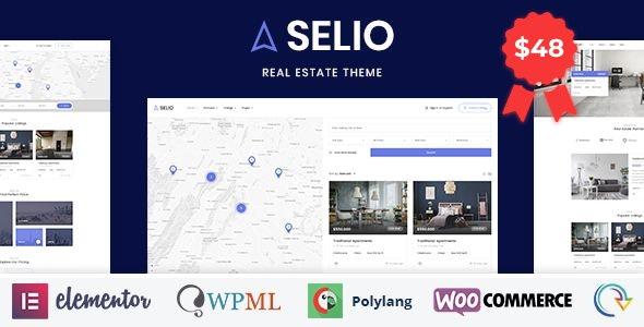 Selio - Real Estate Directory - Real Estate WordPress