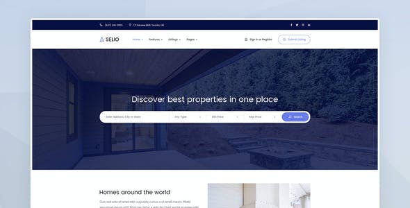 Selio - Real Estate Directory