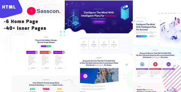 sasscon - Saas & Digital Agency Template