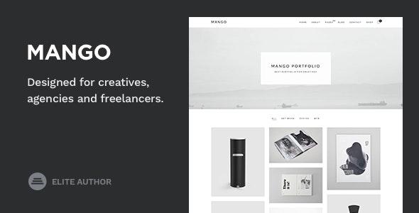 Mango - Portfolio for Creatives - Portfolio Creative