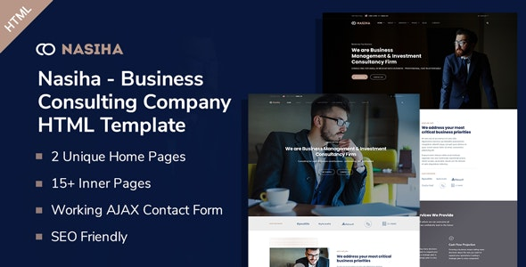 Nasiha - Business Consulting Company HTML5 Template - Business Corporate