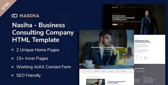 Nasiha - Business Consulting Company HTML5 Template
