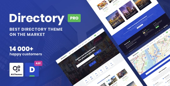 DirectoryPRO - WordPress Directory Theme - Directory & Listings Corporate