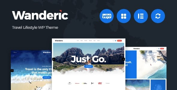 Download Wanderic - Travel Blog & Lifestyle WordPress Theme