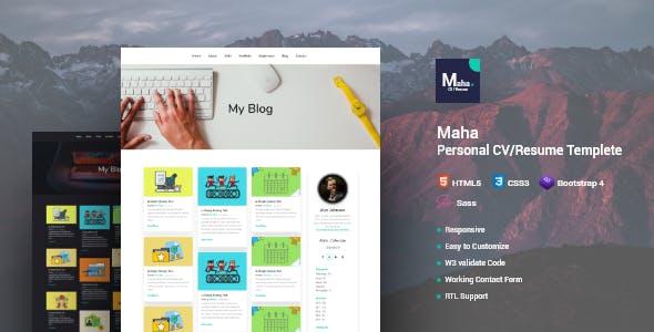 Maha CV/Resume