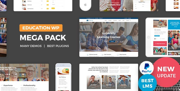 Education Pack - Education WordPress