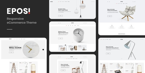 Eposi - Minimal Theme for WooCommerce WordPress - WooCommerce eCommerce